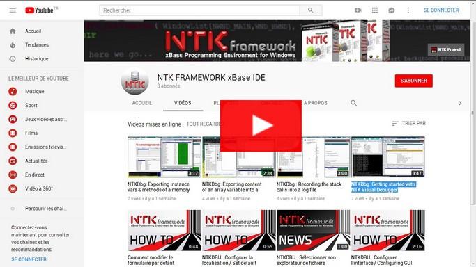 NTK's YouTube Channel